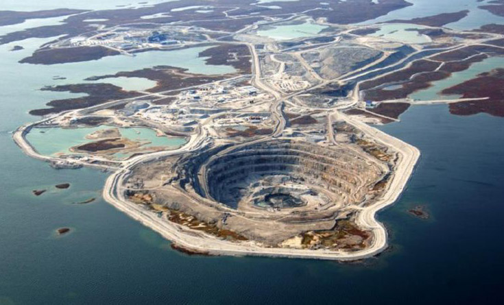 How Diamond Mining Affects the Environment